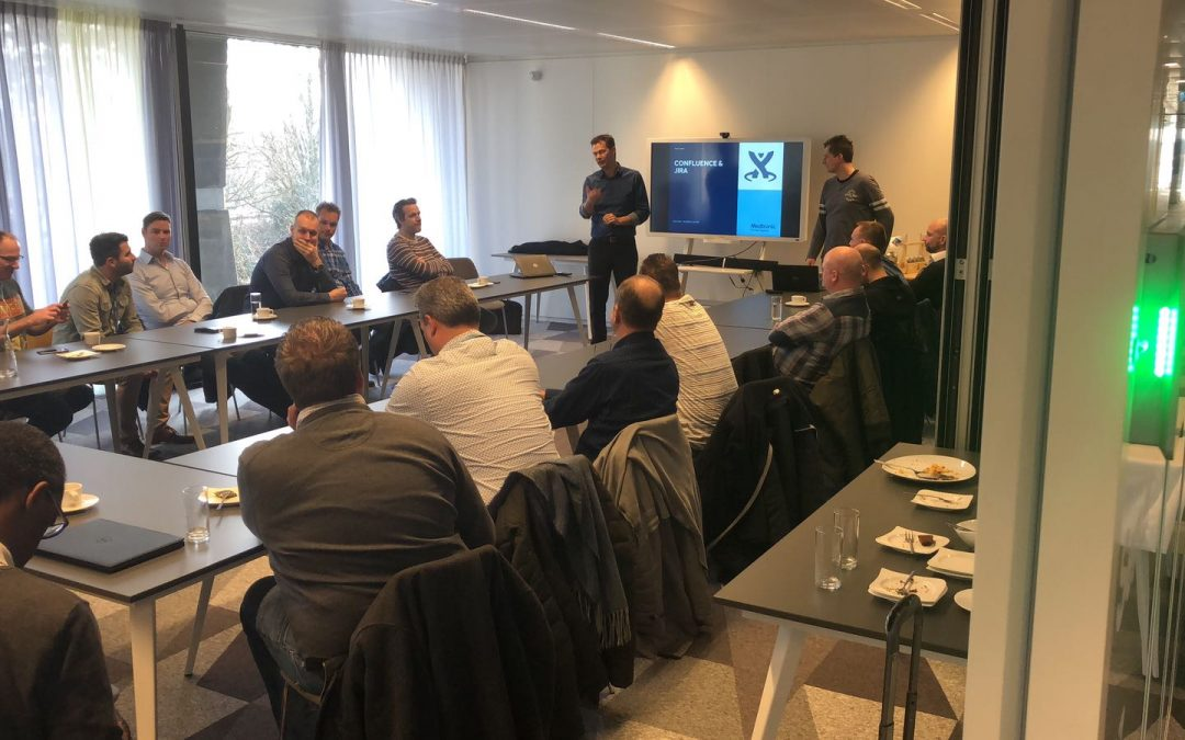 Medtronic te gast bij Cebiq op Brightlands Smart Services Campus